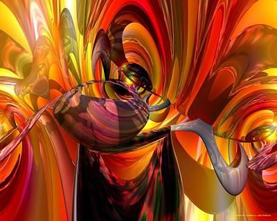 Bookmarks Digital Art - Twilight Jester Fx  by G Adam Orosco