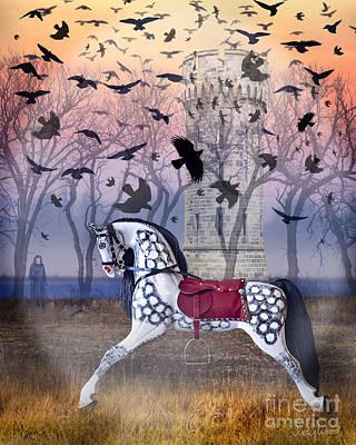 Judy Wood Digital Art - Twilight Mystery by Judy Wood