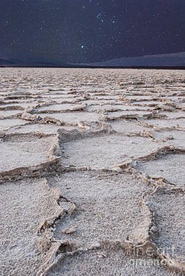 Hot Creek Photograph - Twilight On The Salt Flats by Juli Scalzi