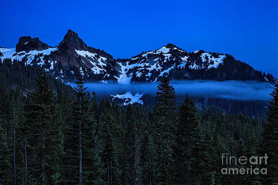 Photograph - Twilight On The Tatoosh Range by Stuart Gordon
