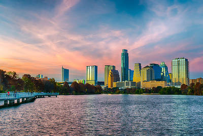 Austin Photograph - Twilight Over Austin  by Tod and Cynthia Grubbs