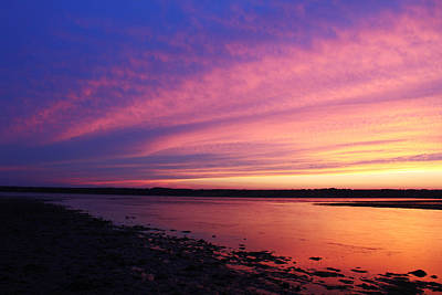 Photograph - Twilight Over Sakonnet by Andrew Pacheco