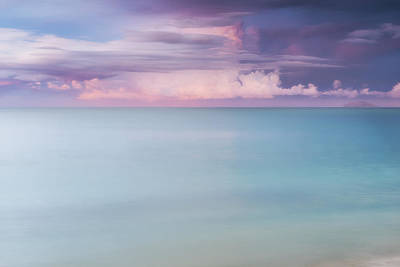 Of The Rincon Photograph - Twilight Over The Atlantic by Photography  By Sai