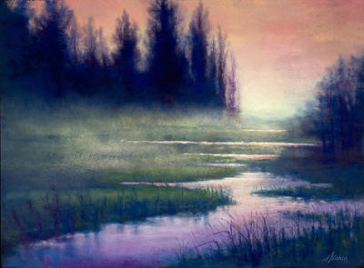 Painting - Twilight Passing by Marjie Eakin-Petty