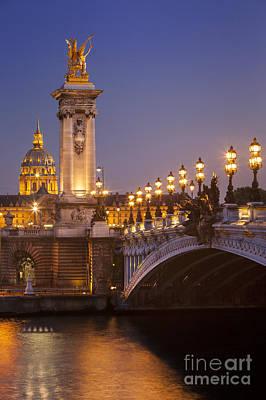 Twilight - Pont Alexandre IIi Art Print