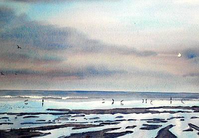 Painting - Twilight Stroll by Glenn Marshall