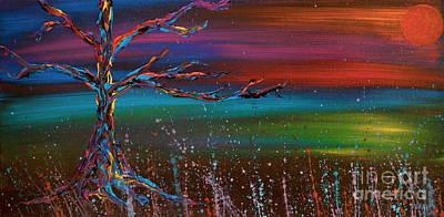 Twilight Sun Art Print