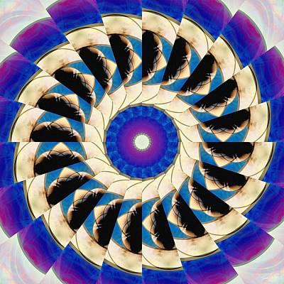 Digital Art - Twilight Swirl by Derek Gedney