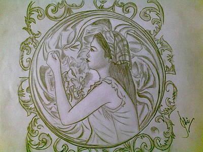 Syeda Ishrat Drawing - Twilight by Syeda Ishrat