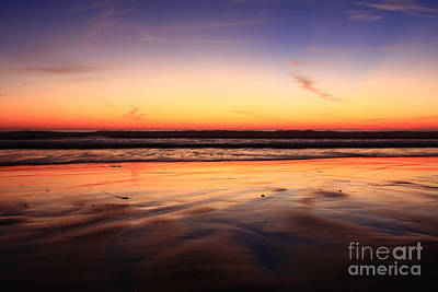 Photograph - Cardiff By The Sea Glow by John F Tsumas