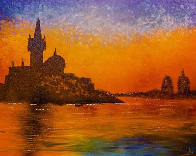 Venice Painting - Twilight Venice by Kyle Geseking