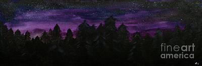 Twilight Woods Original by Katy  Scott
