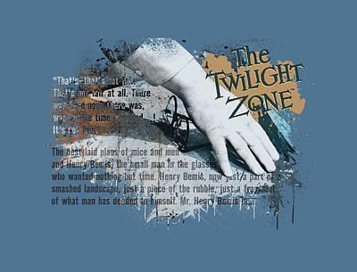 Sterling Digital Art - Twilight Zone - Henry Bemis by Brand A