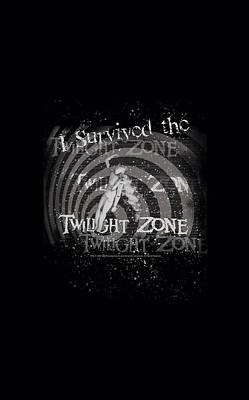 Twilight Zone Wall Art - Digital Art - Twilight Zone - I Survived by Brand A