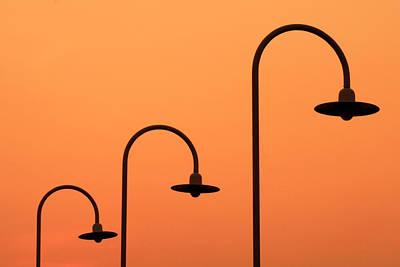 Streetlight Photograph - Twilights.. by A Rey