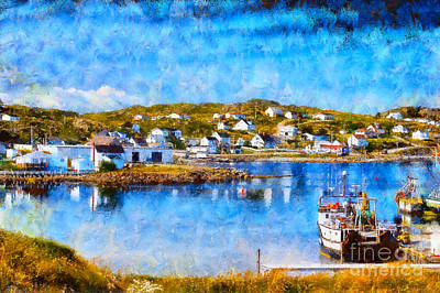 Photograph - Twillingate In Newfoundland by Les Palenik