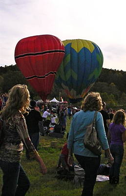Photograph - Twin Balloons by Lee Hartsell