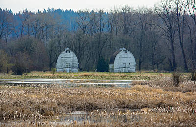 Photograph - Twin Barns by Tikvah's Hope
