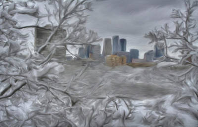 Painting - Twin Cities by Dennis Buckman