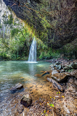 Photograph - Twin Falls Sunlight by Pierre Leclerc Photography