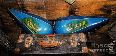 Photograph - Twin Indian Tanks by Paul Mashburn
