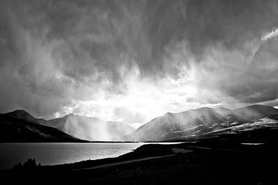 Twin Lakes Storm Original by Patrick Ray Dunn