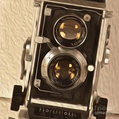 Twin Lens Reflex Redux Art Print by Bruce Stanfield