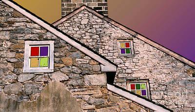 Rural Scenes Digital Art - Twin Peaks by Linda  Parker