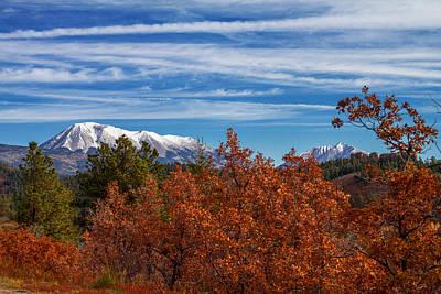 Trinidad Colorado Photograph - Twin Peaks by Sean Ramsey