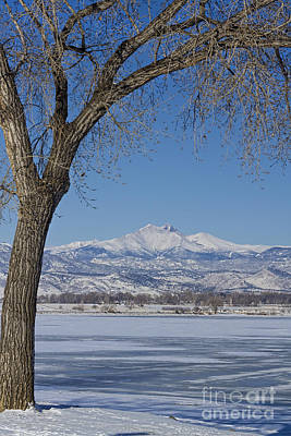 Claude Monet - Twin Peaks Winter Portrait View by James BO Insogna