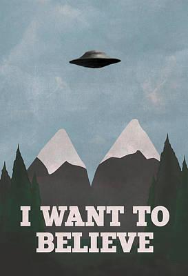 Twin Peaks X-files Mashup Art Print