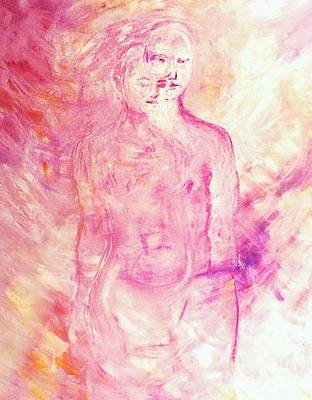 Painting - Twin Souls by Nancy Wait
