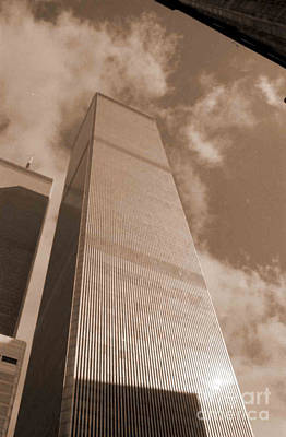 Photograph - Twin Tower by George D Gordon III