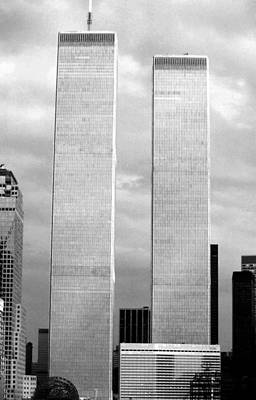 Photograph - Twin Towers And Marriott Hotel by John Schneider