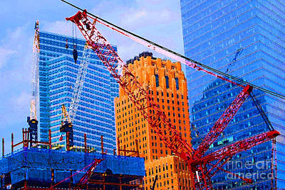Photograph - Twin Towers Area  by Art Mantia