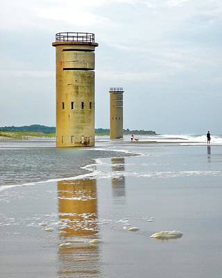 Photograph - Twin Towers At Whiskey Beach by Kim Bemis