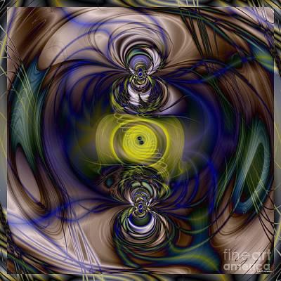Twine Of Light Art Print by Elizabeth McTaggart