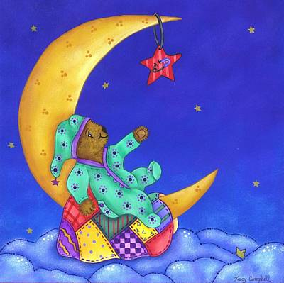 Painting - Twinkle Little Star by Tracy Campbell