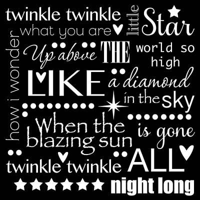 Twinkle Twinkle Little Star  Art Print by Purple Moon