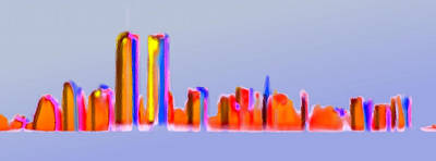 Twin Towers Trade Center Digital Art - Twins Again by Marcello Cicchini