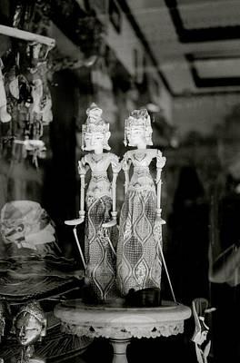 Classical Doll Photograph - Twins by Shaun Higson
