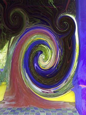 Digital Art - Twirl by Soumya Bouchachi