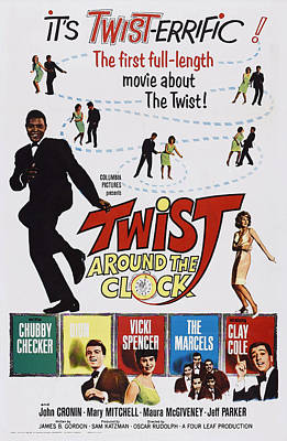 Twist Around The Clock, Us Poster Art Art Print by Everett