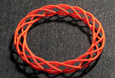 Jewelry - Twisted Bangle  A02 by Robert Krawczyk