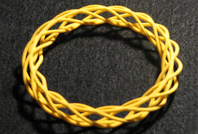 Jewelry - Twisted Bangle  A03 by Robert Krawczyk