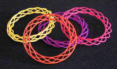 Jewelry - Twisted Bangles A0104 by Robert Krawczyk