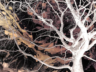 Twisted Dance - Dark Dreams Art Print by Shawna Rowe