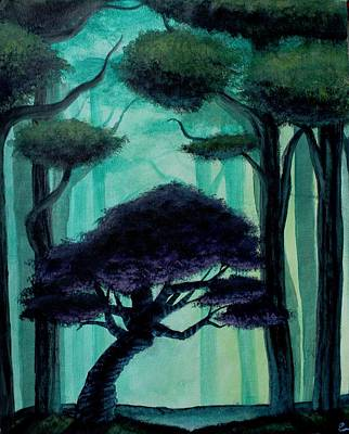 Twisted Forest Art Print