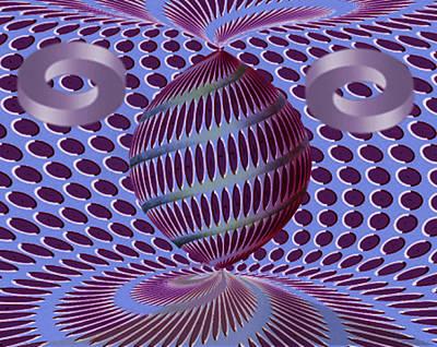 Digital Art - Twisted by Vincent Autenrieb