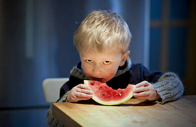 Photograph - Two And A Half Years Of Watermelon Love by Valerie Rosen